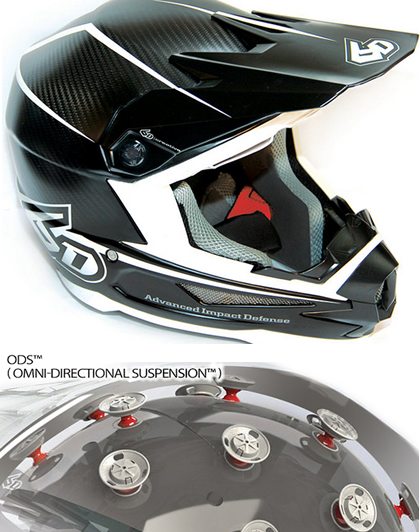 6D Helmets Santa Cruz Suspension